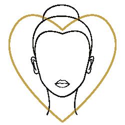Le Bar à Lunettes – Accord visage et monture : Forme du visage et Accord  : Forme du cœur