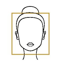 Le Bar à Lunettes – Accord visage et monture : Forme du visage et Accord : Forme carrée