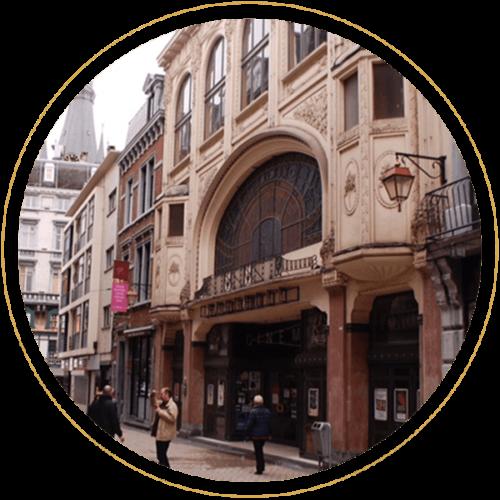 Le Bar à Lunettes By Thibaut, opticien à Liège - Rue du Mouton Blanc 22 - Rue piétonnière du carré