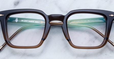 Emerson , modèle de Jacques Marie Mage disponible au bar à lunettes By Thibaut opticien à Liège