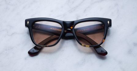 Partenariat Jacques Marie Mage et le bar à lunettes, opticien à Liège : modèle Fitzgerald'